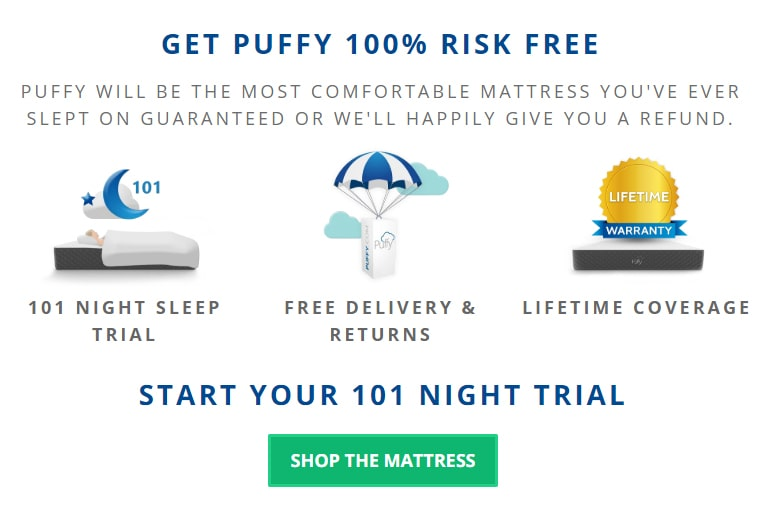 Puffy Mattress - AMERICA'S MOST COMFORTABLE MATTRESS