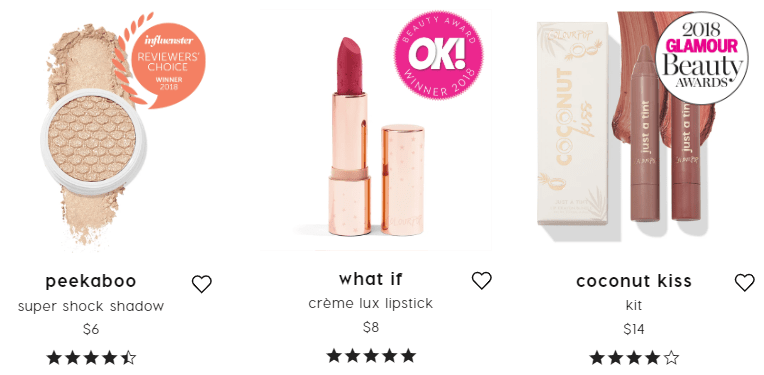 colourpop.com - Online costemetic store from california