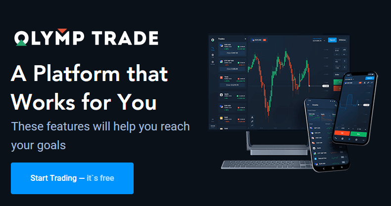 Olymp Trade - The online trading and investment platform