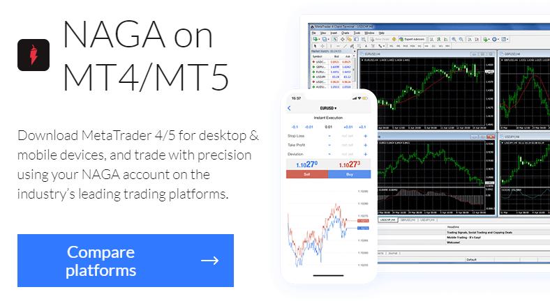 Naga.com - Social trading and investing platform