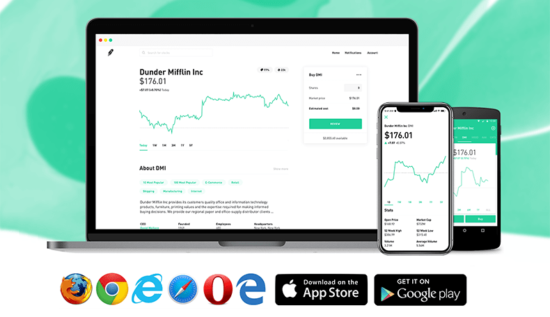 Robinhood.com - Commission-free stock trading and investment app