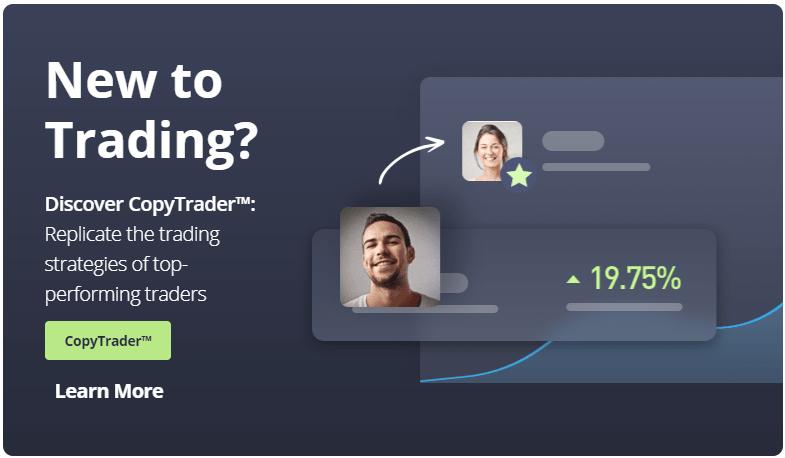etoro - Online social trading and investing platform