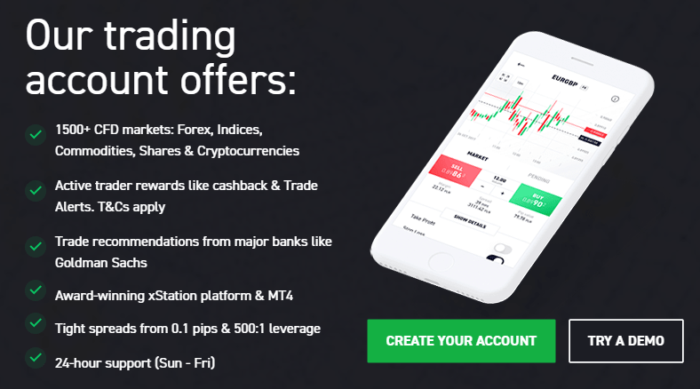 Xtb.com - Leading European FX and CFDs brokerage platform