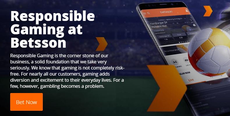 Betsson - Online casino and sportsbetting