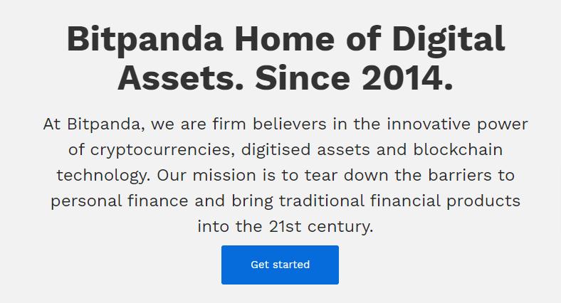 Bitpanda - Digital assets trading platform