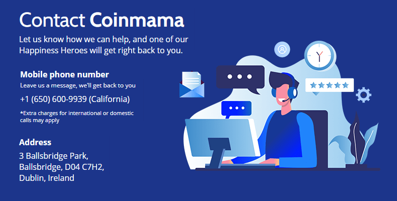 Coinmama- Buy and sell cryptocurrency online