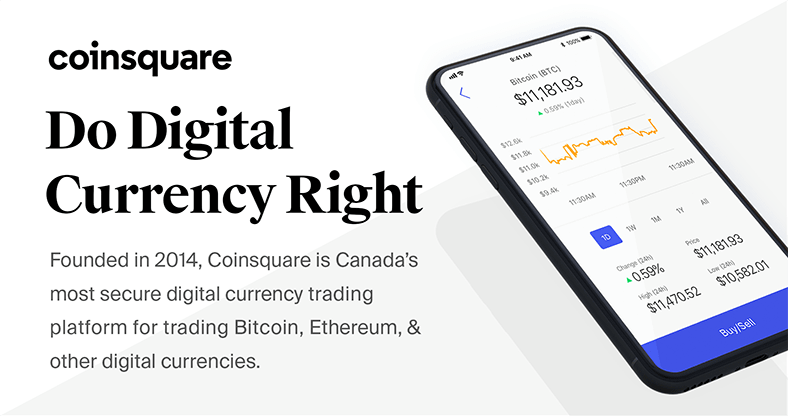 Coinsquare.com review - Buy cryptocurrency in Canada