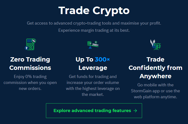 Stormgain review - Online cryptocurrency trading platform