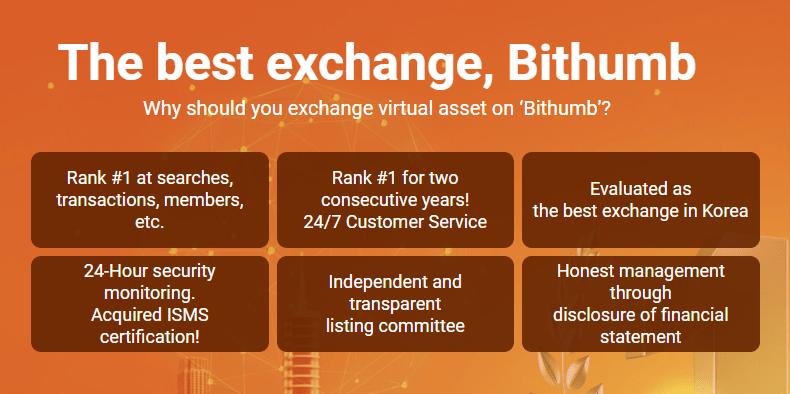 Bithumb.com review - No. 1 digital asset platform