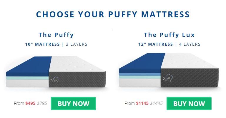 Puffy Mattress - AMERICA'S MOST COMFORTABLE MATTRESS
