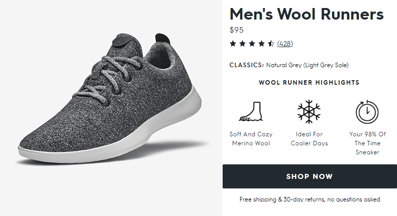 Allbirds - the most comfirtable shoe on the planet