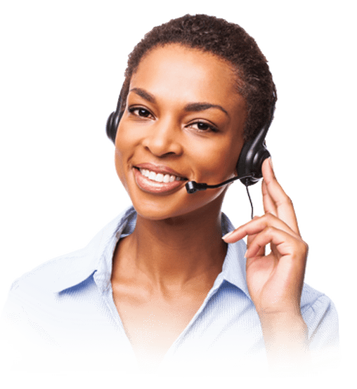 customer support woman