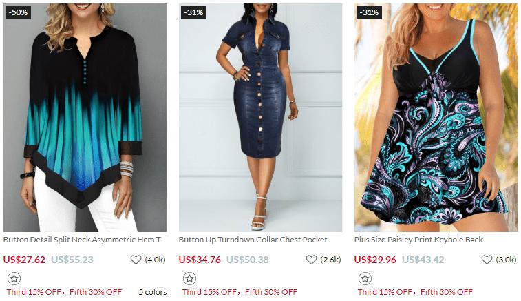 Rotita - Online women fashion shopping store