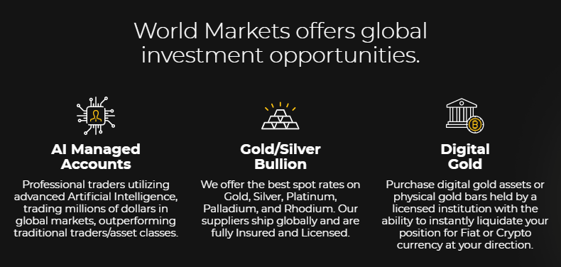 Worldmarkets.com - Global investment hub