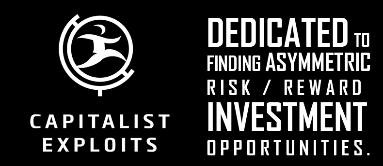 CapitalistExploits - investment insights for asymmetric risk/reward investments