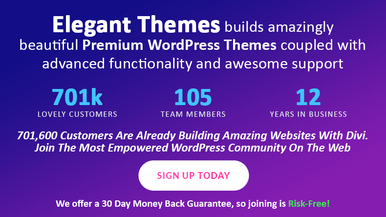 Elegant Themes - The most populare wordpress themes