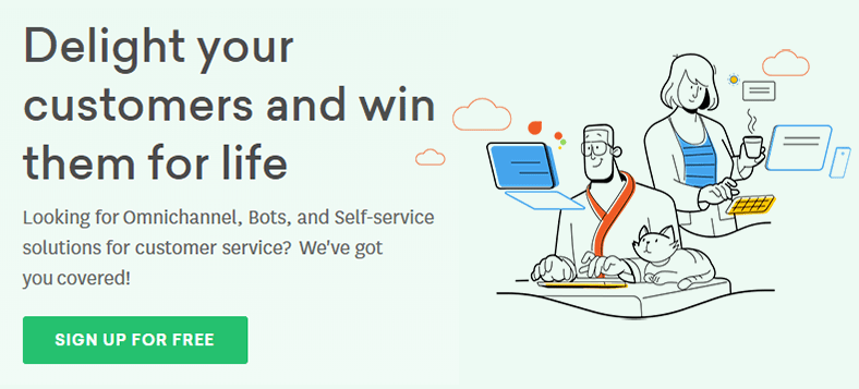 Freshdesk - Online cloud-based customer service software