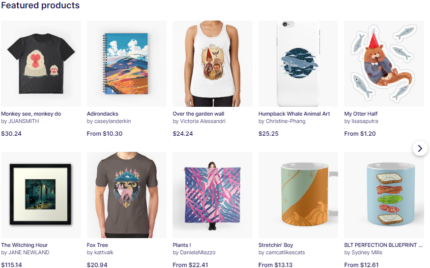 RedBubble - Bringing more creativity in the world.