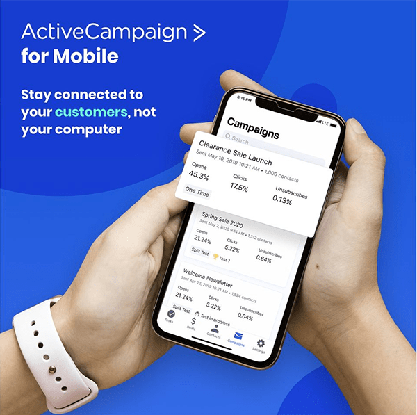 Active campaign - Small business CRM and email marketing