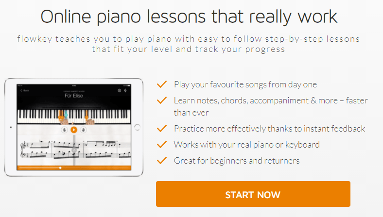 Flowkey - Learn to play piano online