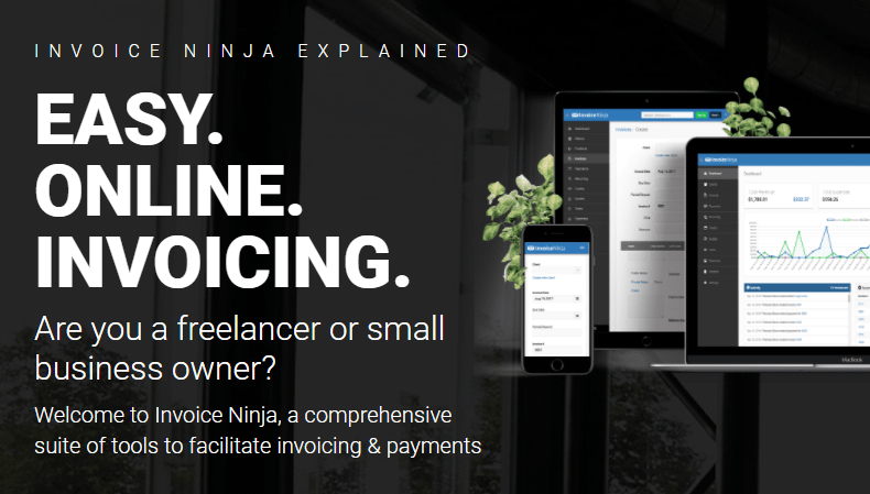 Invoice ninja - Free open source invoicing, expenses and time tracking
