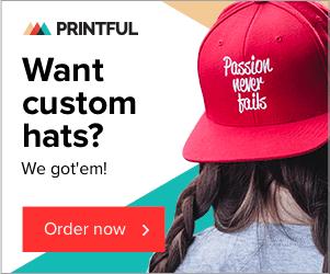 Printful- print on-demand and drop shipping